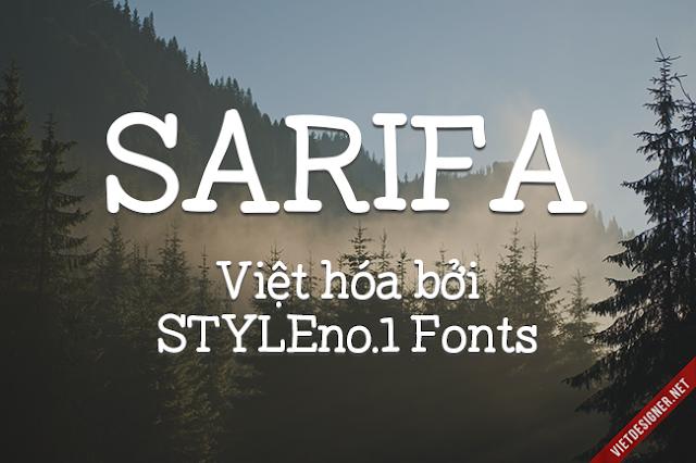 [Hand Serif] Sarifa Việt hóa