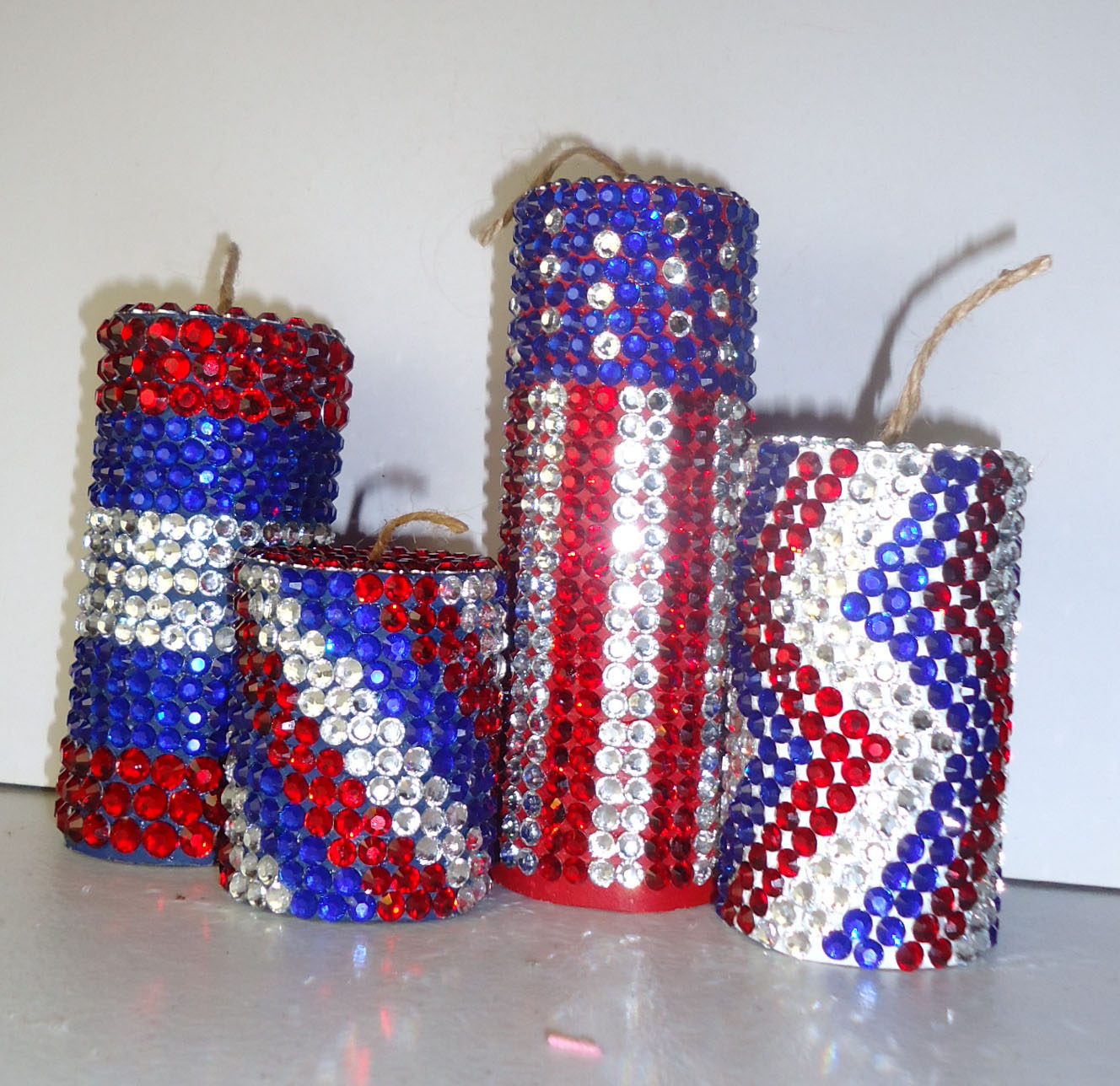 frugal home design easy inexpensive 4th of july decor diy if you are looking for easy and cheap decoration ideas for the 4th of july you have come to the right place display these beautiful jeweled firecrackers