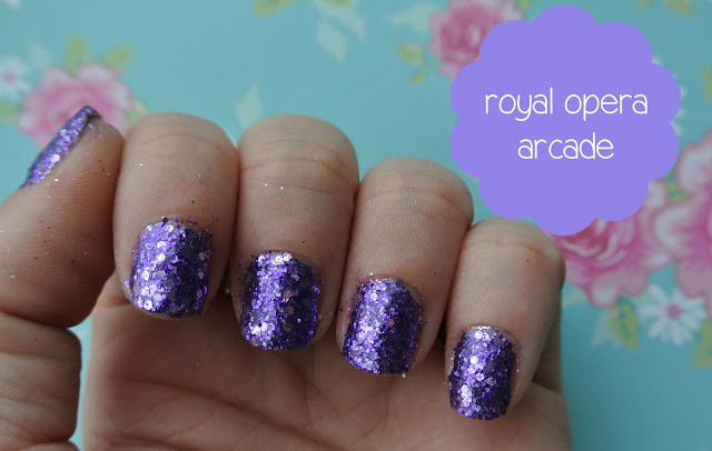 nails inc royal opera arcade swatch