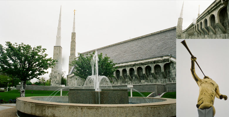 Boise Idaho Temple, May 16, 2005