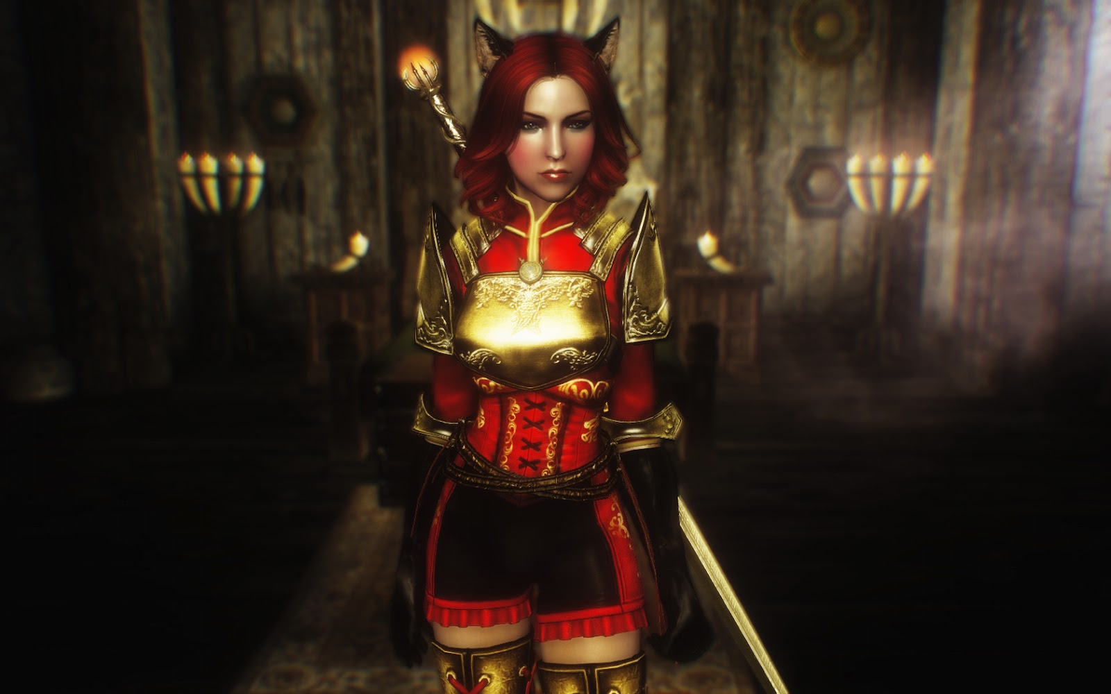 Skyrim female character mods porn gallery