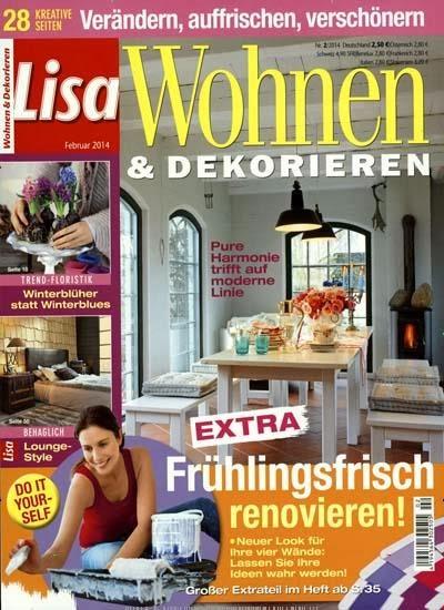 HOUSE of IDEAS in LISA Wohnen & Dekorieren/ Deutschland