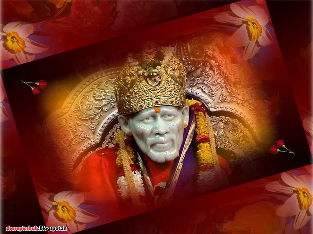Lord Satguru Sai Baba Wallpaper For Desktop Shirdi
