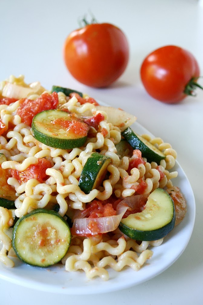 The Garden Grazer: Garden Vegetable Pasta