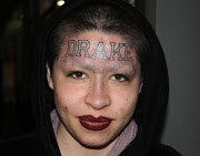 Fan Tattoo's Drake's Name On Her Forehead LMFAO!