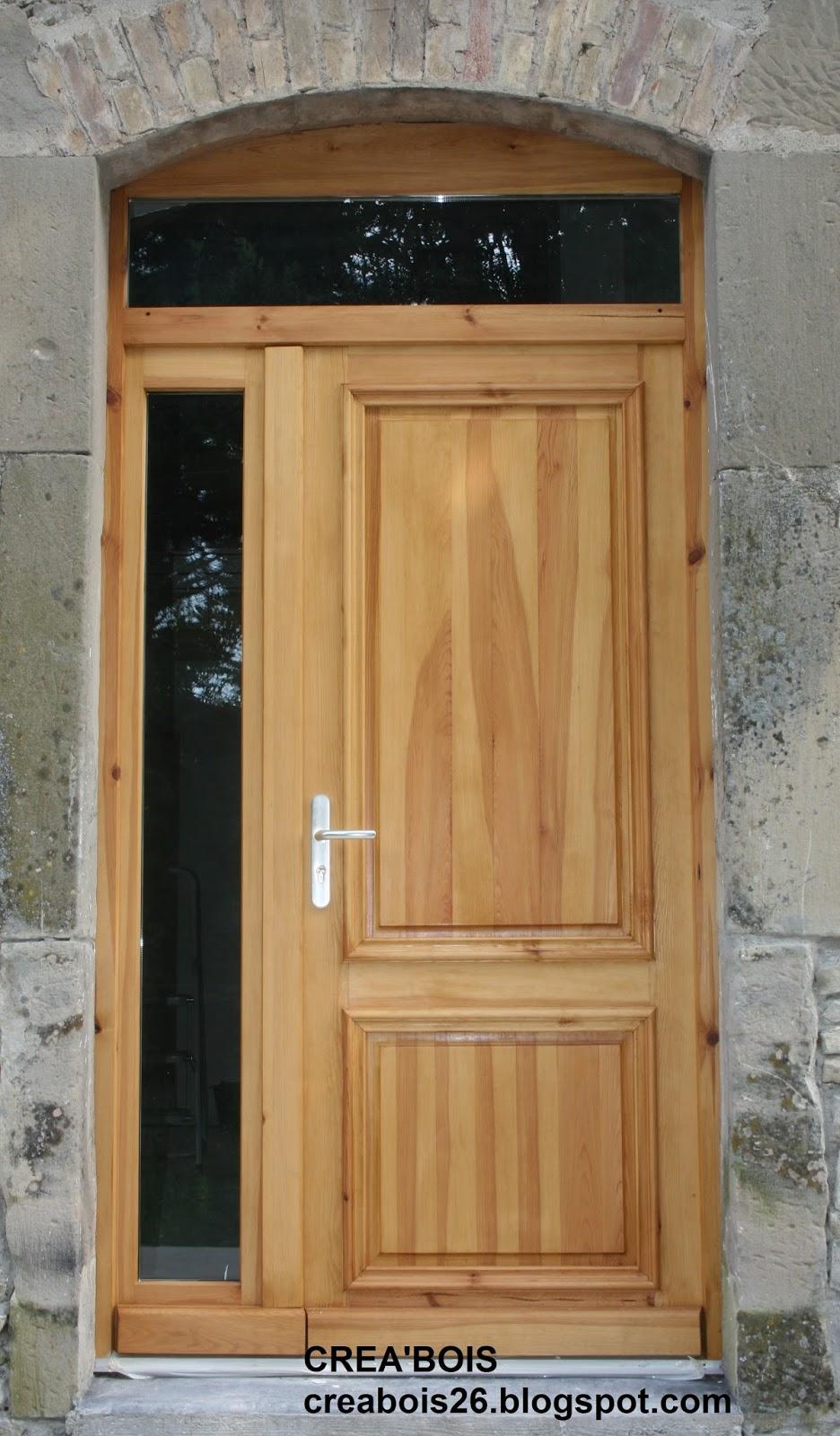 Populaire CREA'BOIS: Portes d'entrée CN69