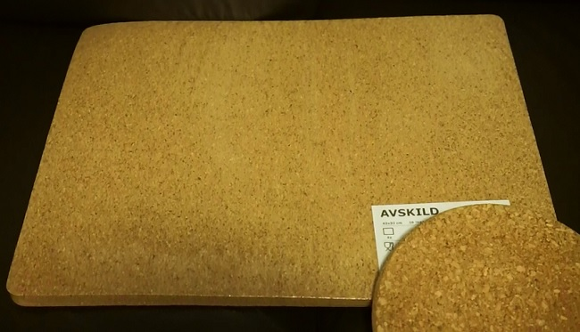 review ikea avskild place mat cork invertedkb. Black Bedroom Furniture Sets. Home Design Ideas
