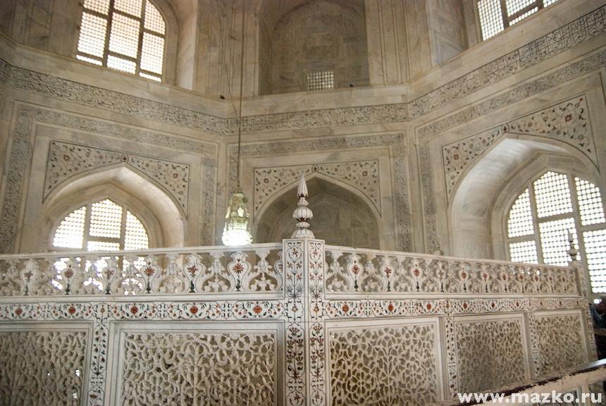 внутри мавзолея тадж махала