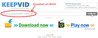 masukan url video