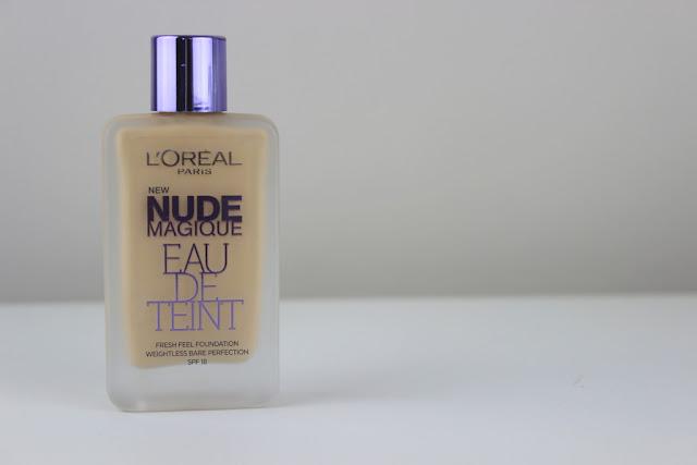 LOreal Nude Magique Eau De Teint Foundation.   Lux Life