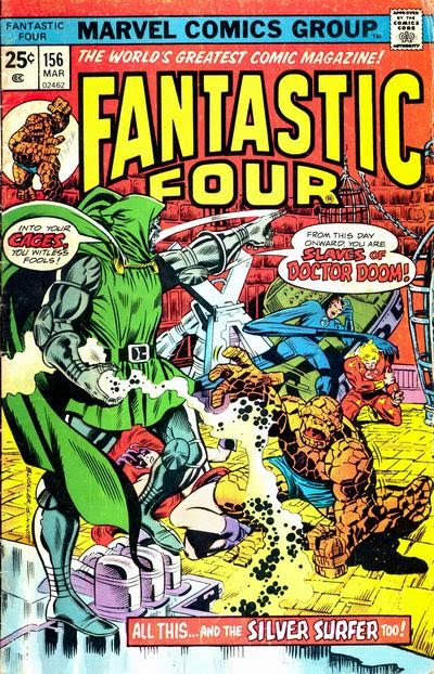 Fantastic Four #156, Dr Doom