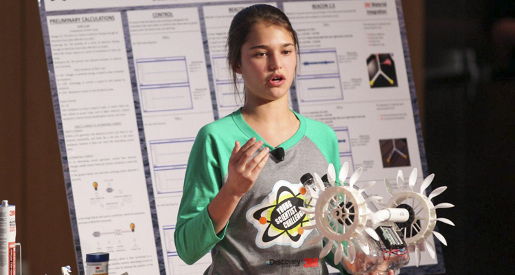 9th Grader Develops $12 Machine That Produces Renewable Energy From Ocean Currents