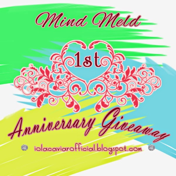 1st Anniversary Giveaway Mind Meld.