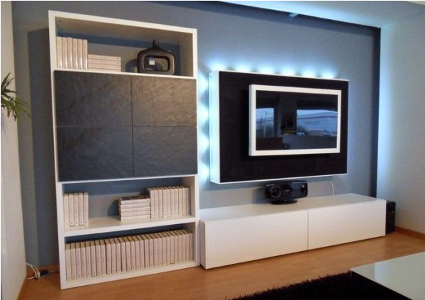 TV on Wall Room