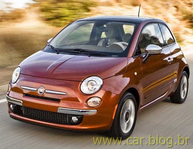 Novo Fiat 500 2012 - vermelho