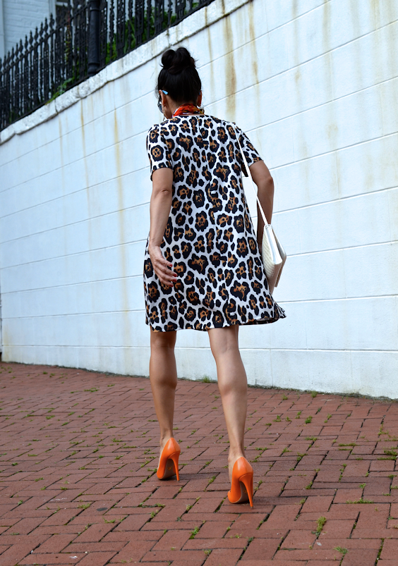 ASOS LEOPARD PRINT DRESS