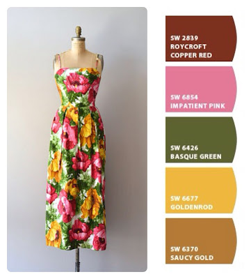 Roman Holiday Dress Pictures On Paint Chips