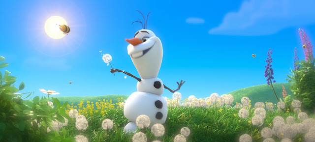 Disney's Frozen Olaf movie still