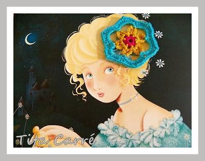 A origem de Cinderela com o meu crochet