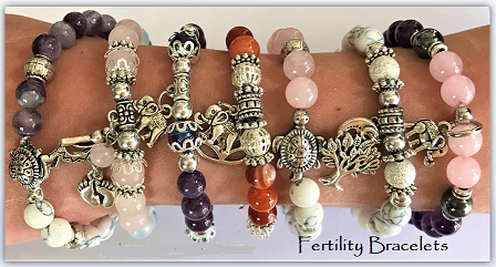 Fertility Jewelry With Healing Stones