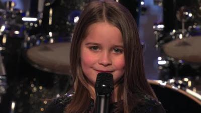 Menina de 6 anos assusta juri do America's Got Talent
