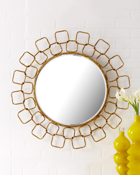 Madison and Parker Metropolitan Wire Link Mirror