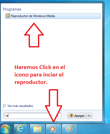 Reproductor de Windows Media