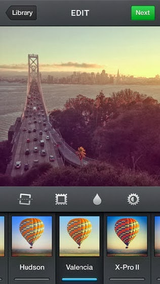 IOS Photo interface