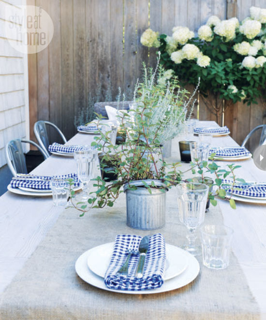 Backyard Garden Party : Julia Ryan House Tour Backyard Garden Party