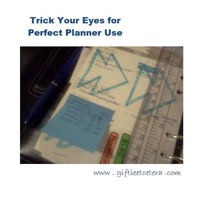 Planner, planner tips, planner tips and tricks, planner hack