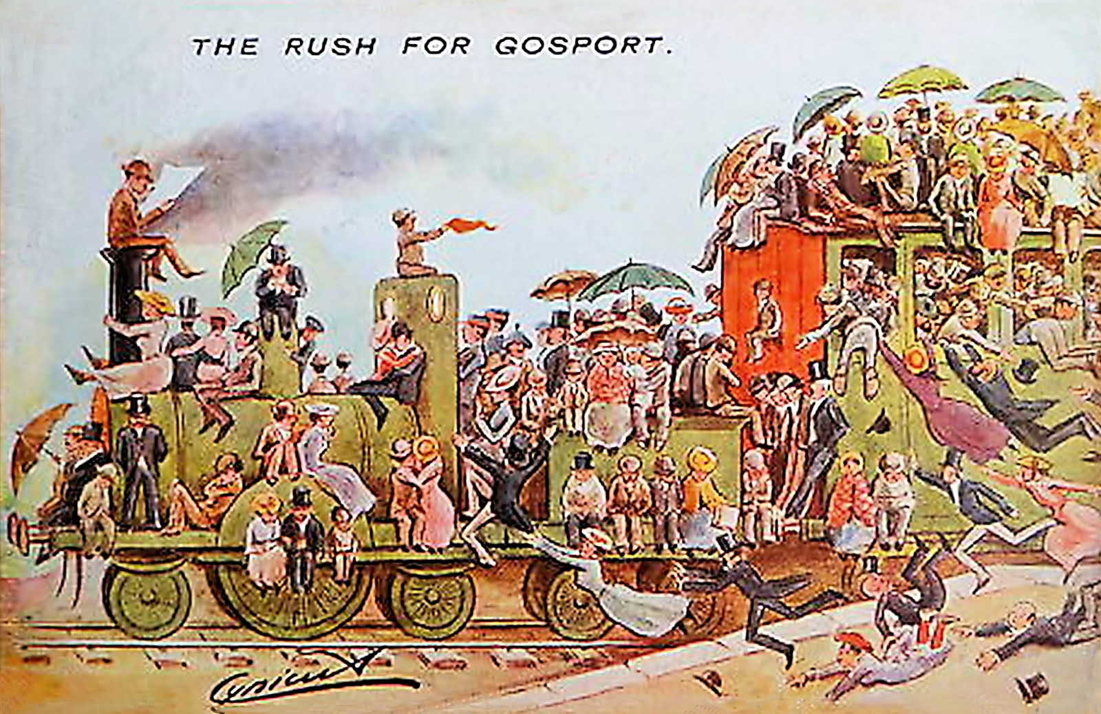 The Rush to Gosport