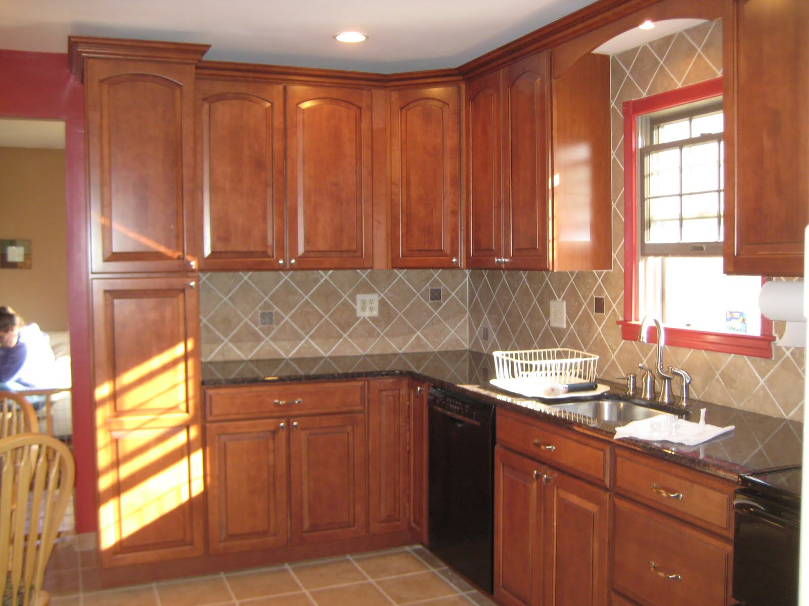 Kitchen Counter Tile Designs