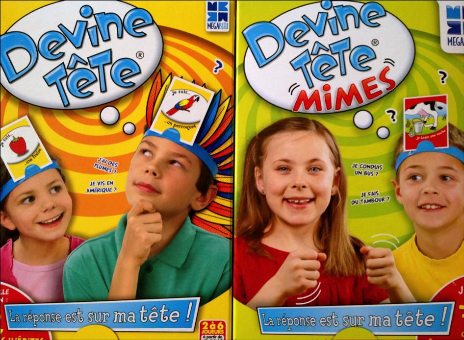 Devine Tete Mimes  Achat / Vente jeu société  plateau  Cdiscount