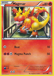 Magmar Dragons Exalted Pokemon Card