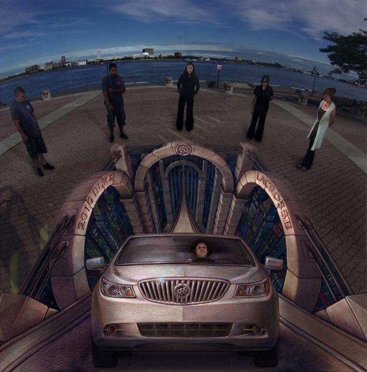 29-Virtual-Test-Drive-Kurt-Wenner-3D-Street-Pavement-Art-Painting-www-designstack-co