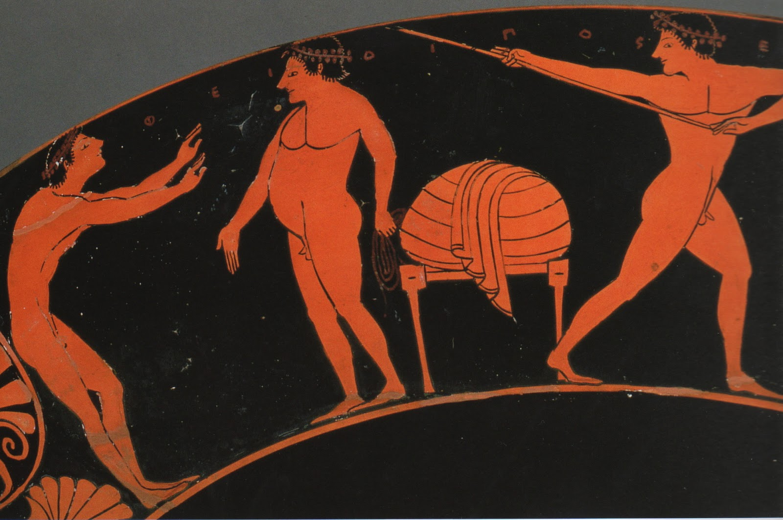 men naked greek Ancient