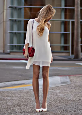 White Casual Dresses and Clothes for Women Collection 2014