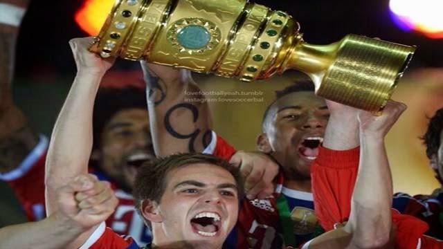 بايرن ميونخ بطلا لكأس المانيا على حساب دورتموند