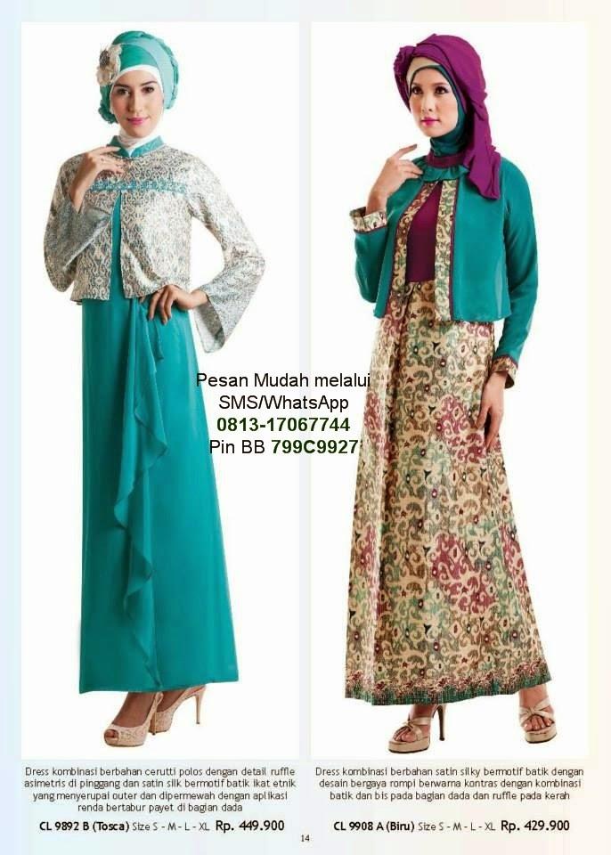 Gamis Cantik Model Baju Muslim Terbaru Cantik Berbaju Muslim