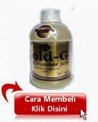 Cara pemesanan Obat HerbalJelly Gamat gold-g