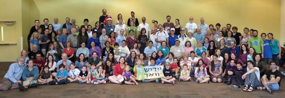 Yiddish Week attendees Maryland 2013