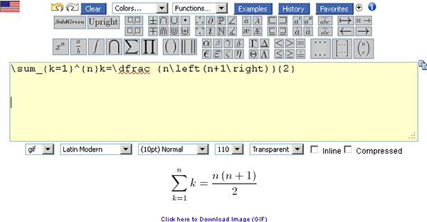 Online LaTeX Equation Editor - Software Chat - nsane.forums