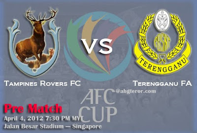 live streaming tampines rovers fc vs terengganu 4 april 2012