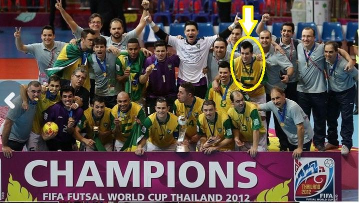O Futsal Pernambucano esteve presente na Final do Mundial(2012) entre Brasil  e Espanha 1b2c8f37ac68a