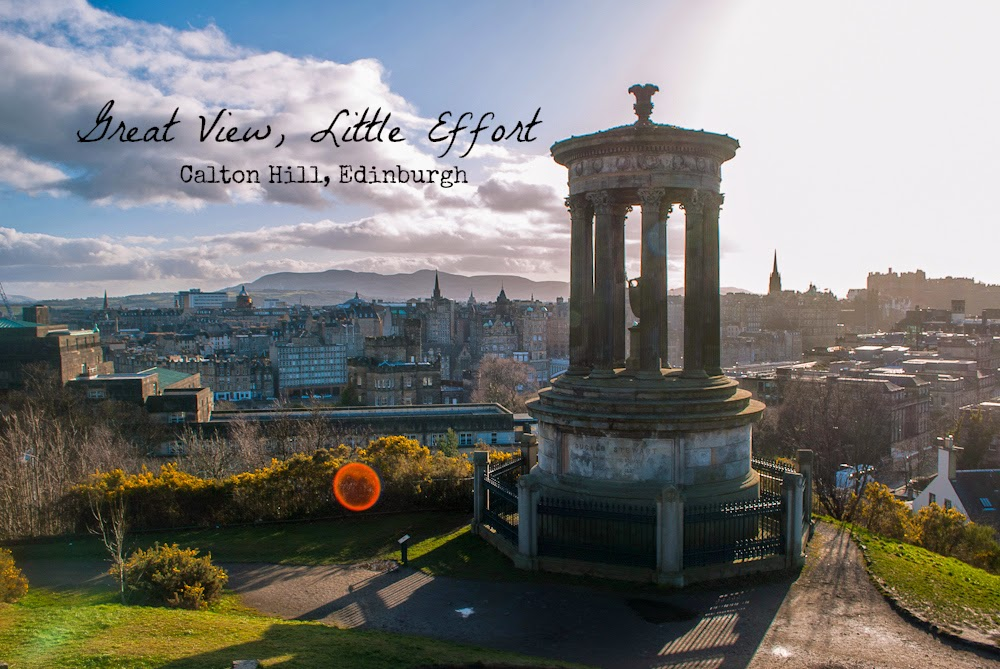 great view from canton hill edinburgh