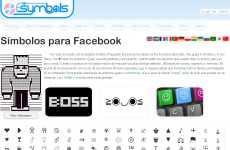 Fsymbols: símbolos para Facebook, emoticones, emojis, y caracteres especiales
