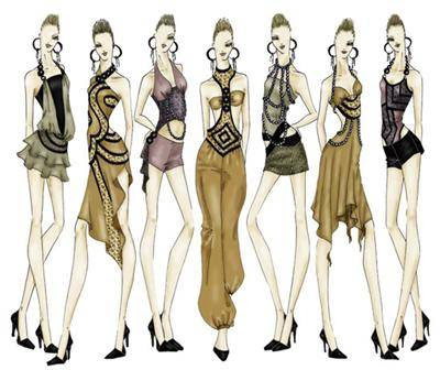 Fashion Design Sketches Mojomade