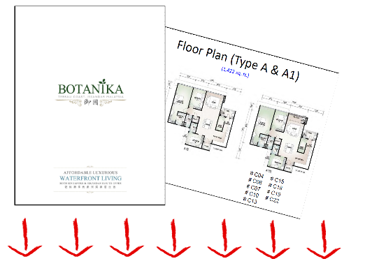 Botanika - 御园 @ Tebrau Coast Floor Plan