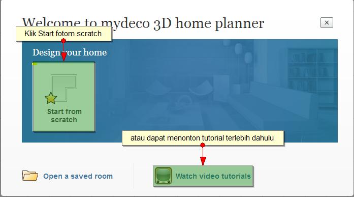 mudah desain rumah dengan mydeco3d midah 39 s project. Black Bedroom Furniture Sets. Home Design Ideas
