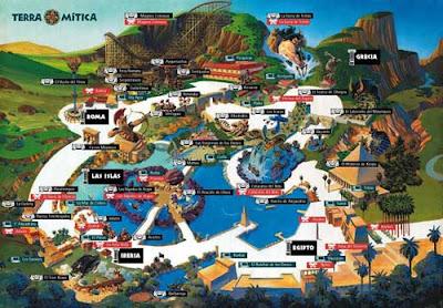 Terra Mítica atracciones